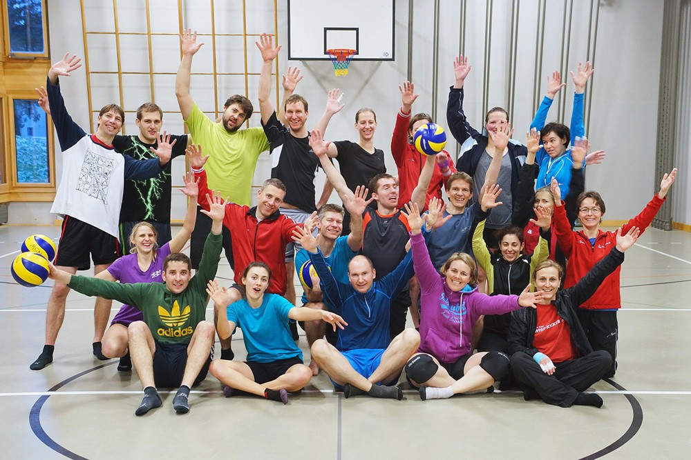 Volleyball-Traingstag 2015 mit Rekordbeteiligung