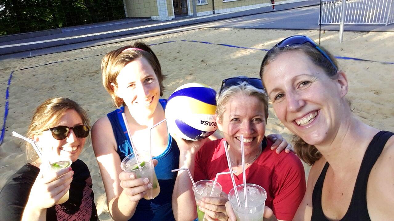 Caipi-Beach-Sommertraining 2015 der Damen