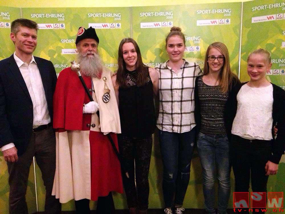 Ruhm und Ehre an der Winterthurer Sport-Ehrung 2016