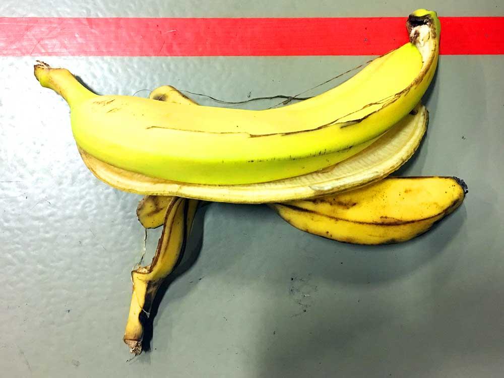 Alles Banane? Nicht ganz.