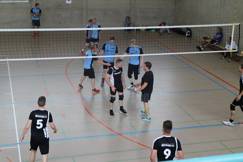 Volleyball Herren 2 gewinnt das Open-Volley Turnier 2017