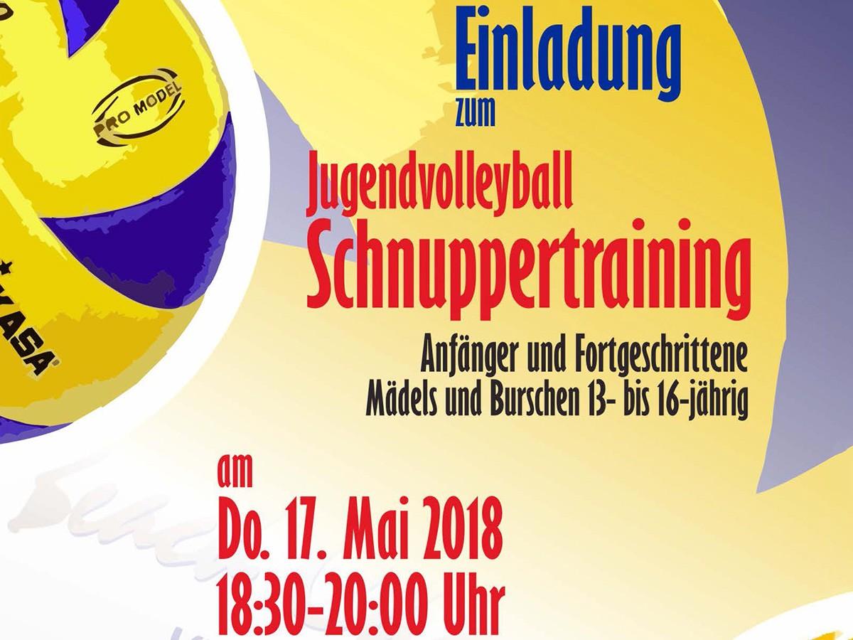 NSW-Jugendvolleyball-Schnuppertraining 2018