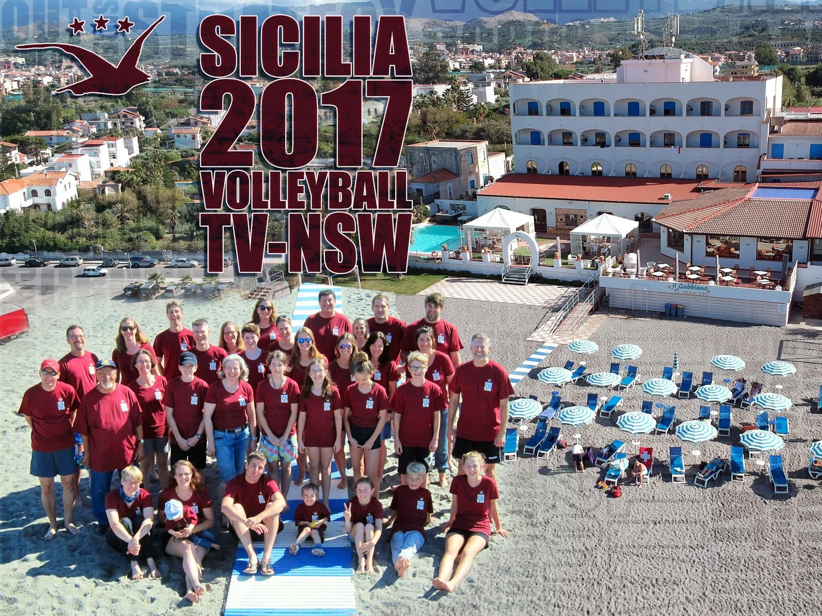 Volleyballtrainingslager Sicilia 2017 – Rückblick