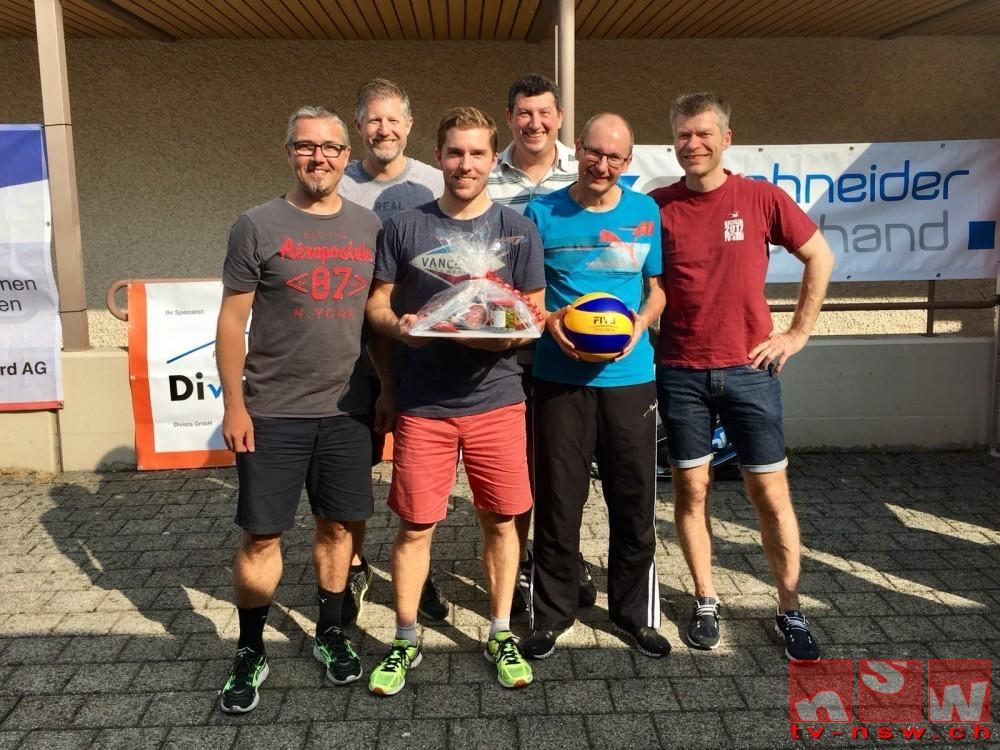Triple am Karl-Pollet-Turnier geschafft
