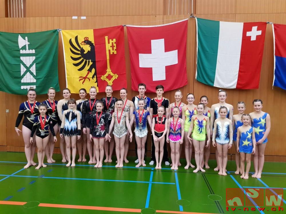 Akro-Schweizer-Meisterschaften 2019 in Neuchâtel