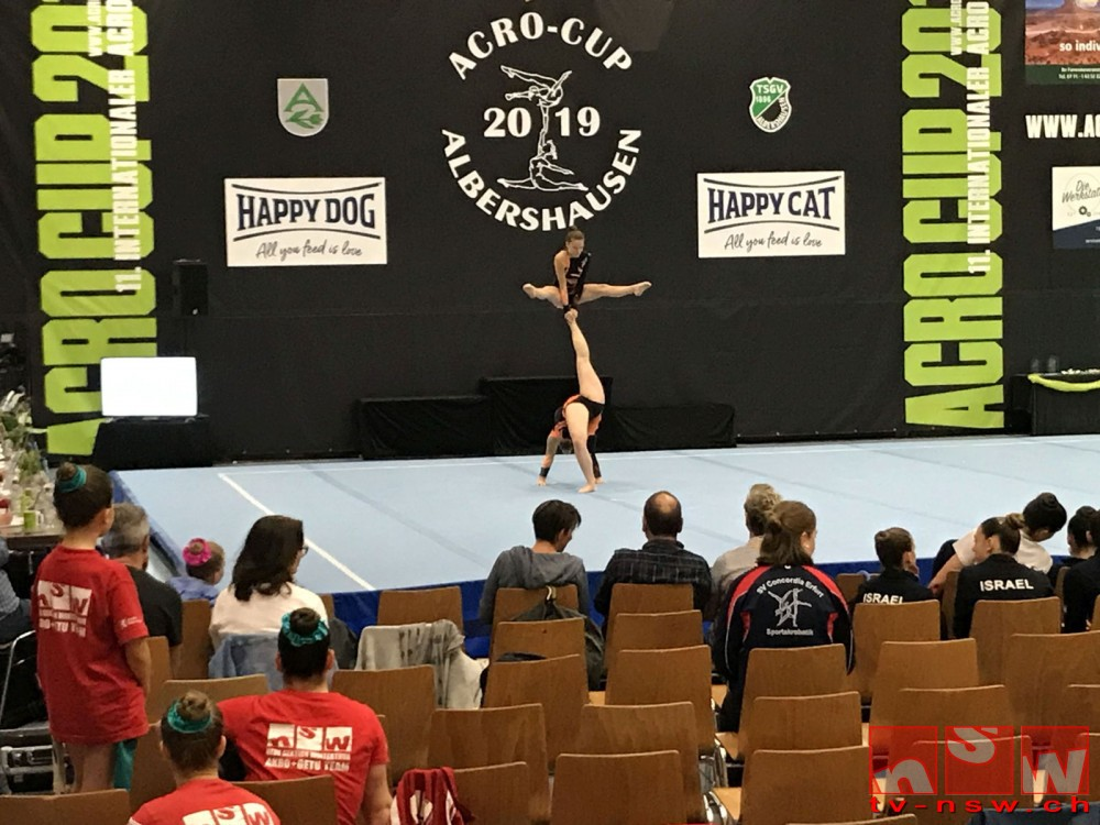 NSW-Akro am International Acro-Cup Albershausen 2019
