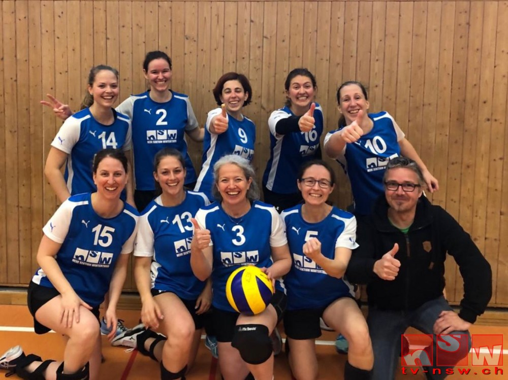 Volleyball-Damen wieder erstklassig – Aufstieg geschafft!