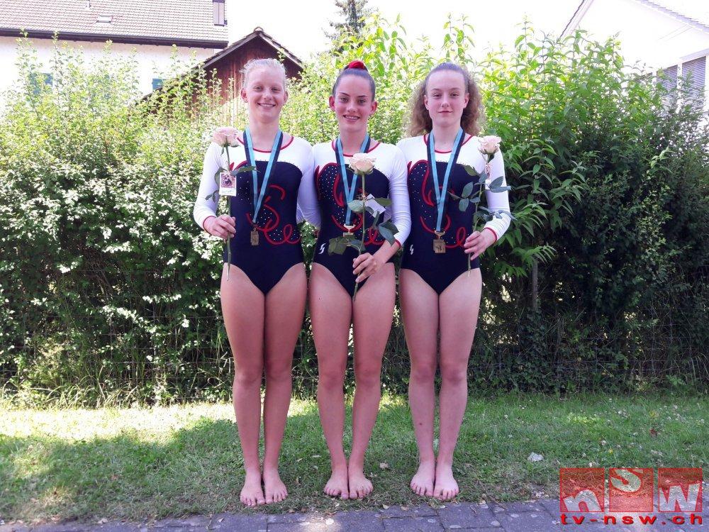 Drei Medaillen und 16 Auszeichnungen am Zürcher Kantonalen Geräteturnerinnentag in Freienstein