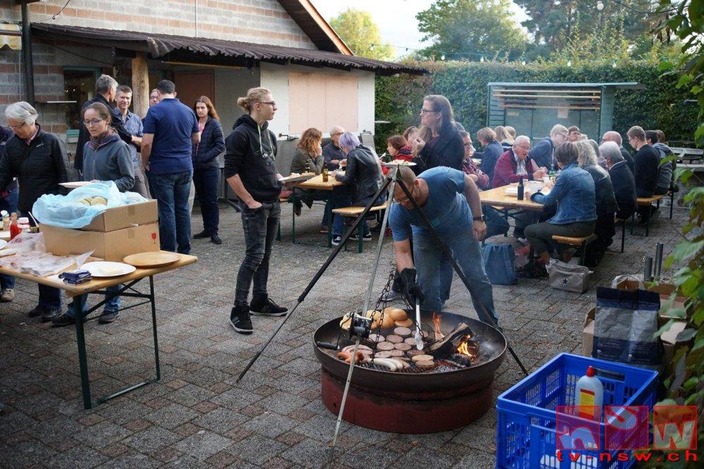 Geselliges SMMGetu18-Helferfest