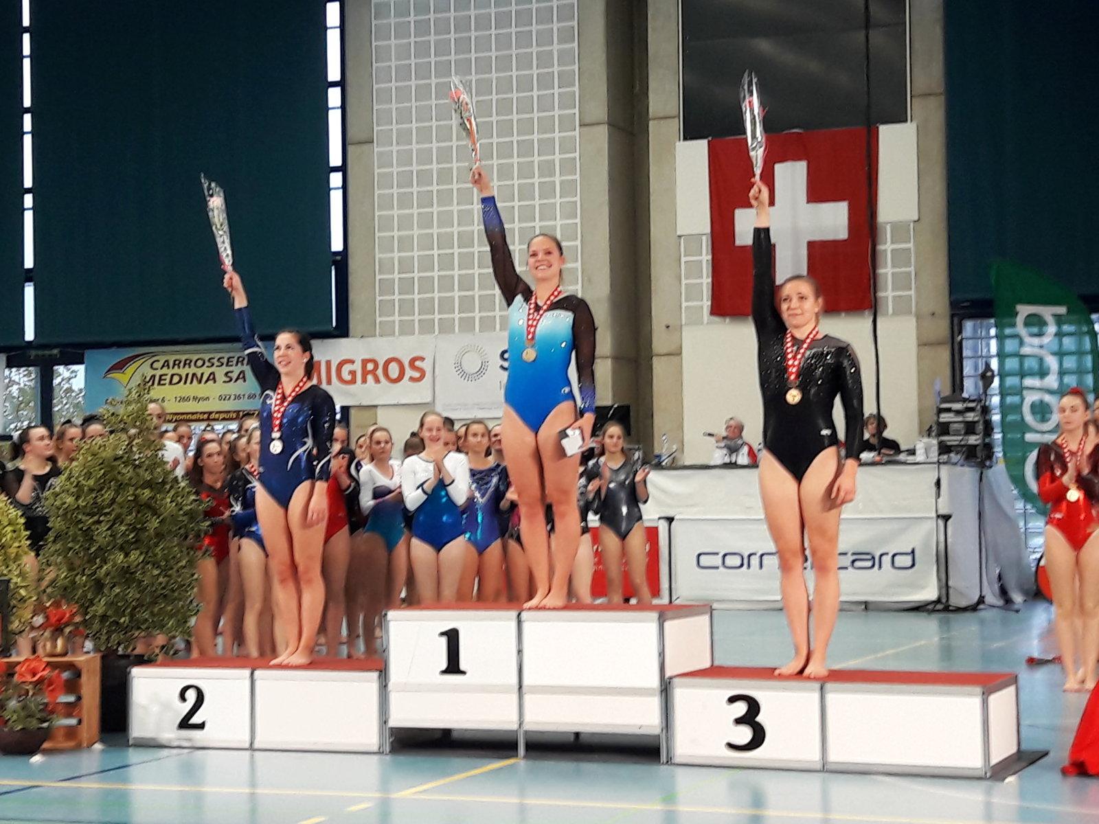 Verdienter Schweizer-Meister-Titel für Sina Flükiger 10 Jahre nach SM-Gold im K5