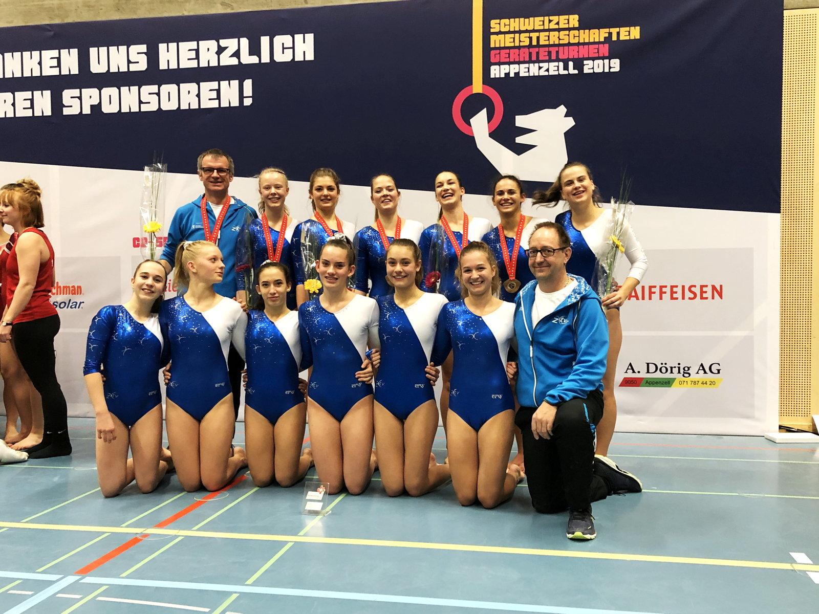 Silber für Team Zürich in der Königsklasse an der SMM 2019 in Appenzell