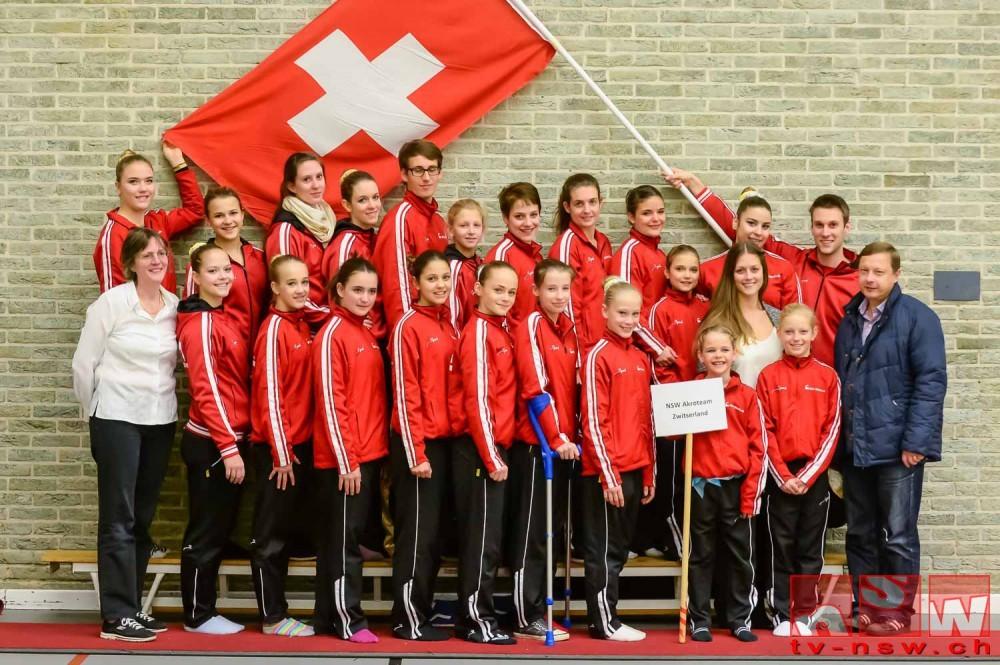 Akrobatikwettkampf in Breda 2014