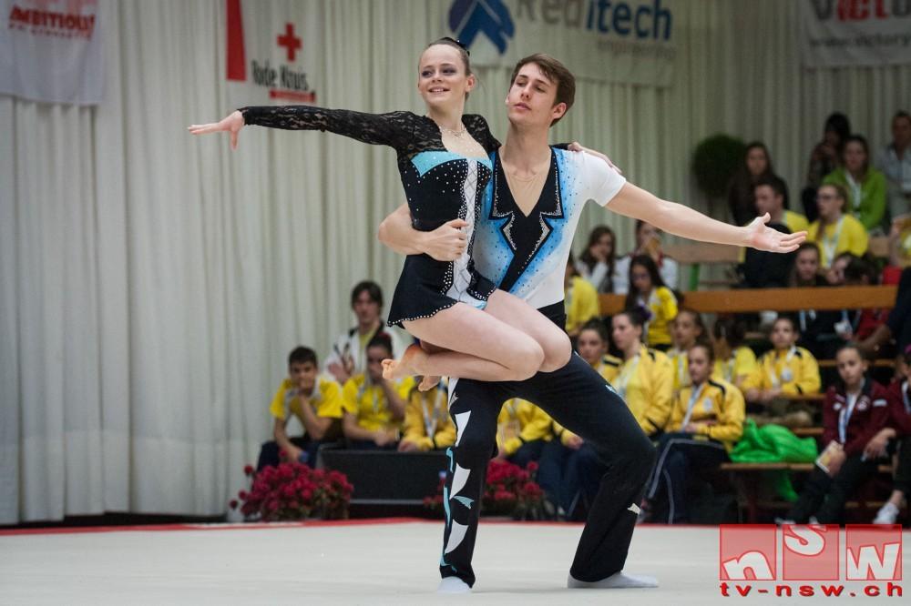 Erfolgreich am Flanders International Acro Cup 2015