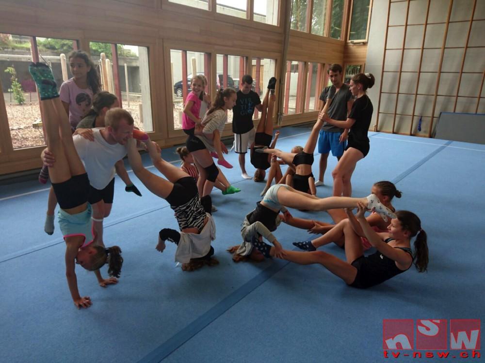 Akro-Trainingswoche 2016 mit dem TSV Friedberg