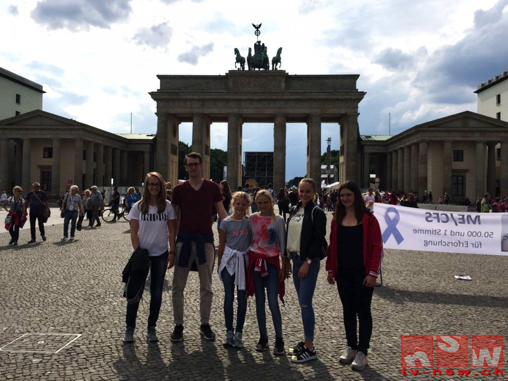 Internationales Deutsches Turnfest in Berlin mit Finalplatz