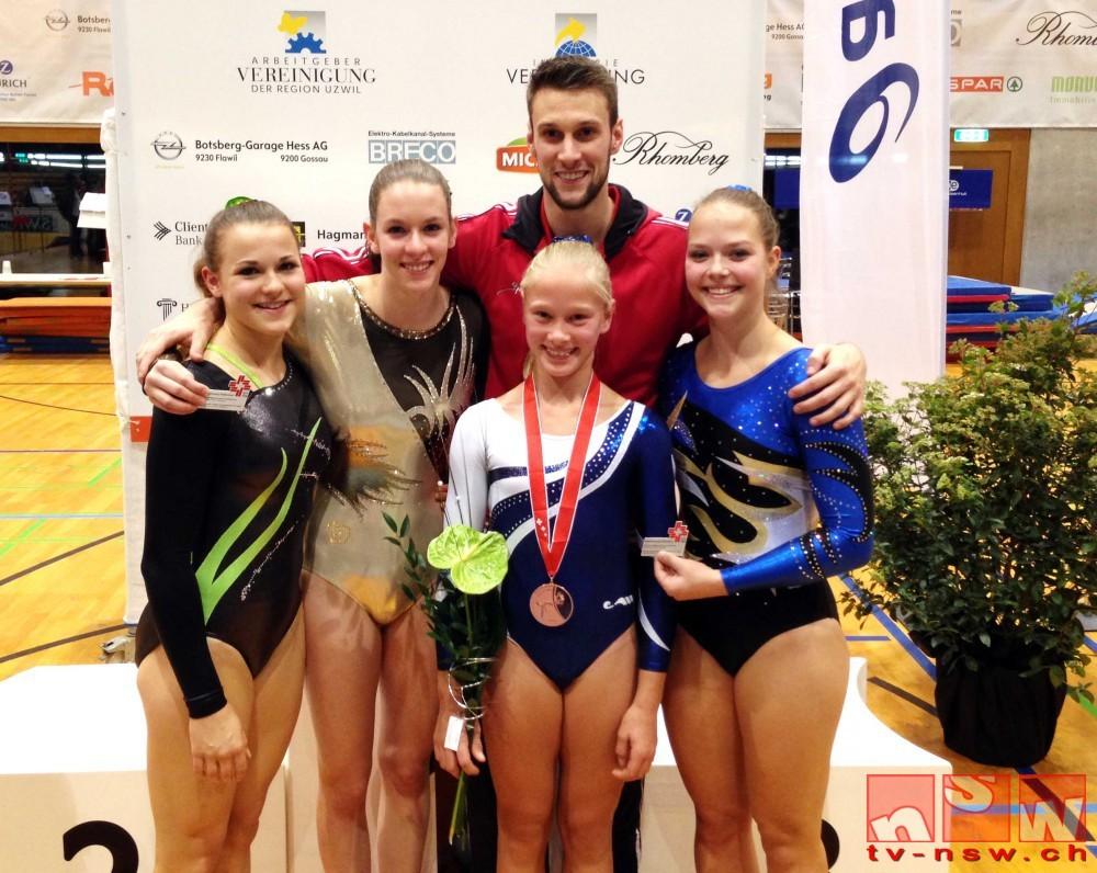 Zweimal Bronze an den Schweizer Einzel-Meisterschaften im Geräteturnen 2015