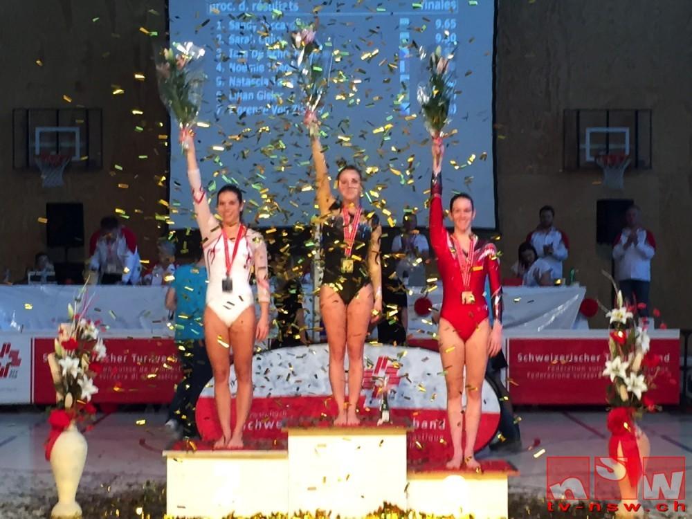 Bronze am Boden an den Schweizer Einzelmeisterschaften im Geräteturnen 2016
