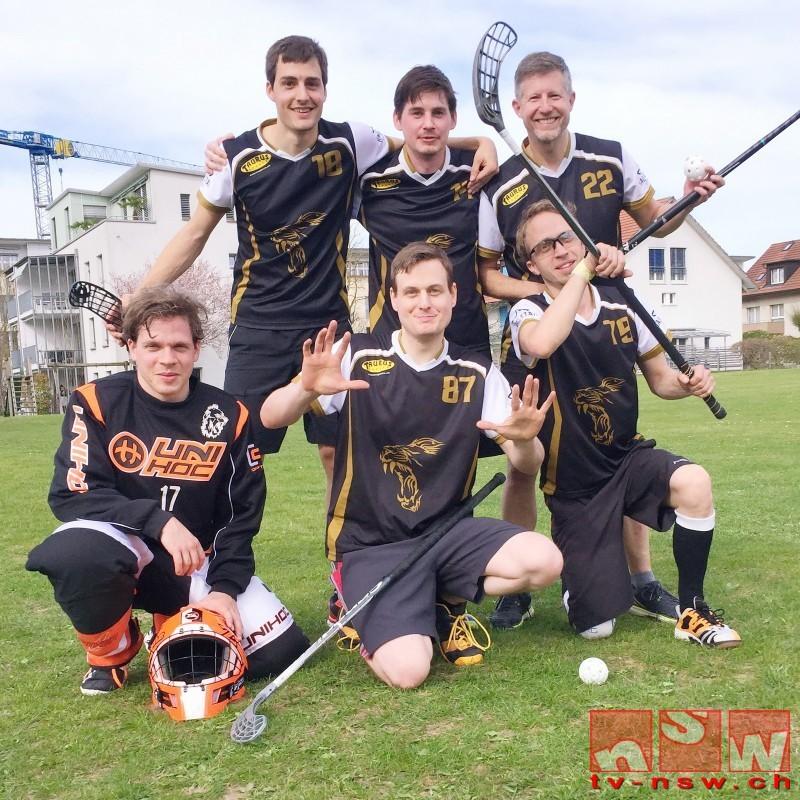 NSW produziert Flugzeugteile am Unihockey Seuzicup