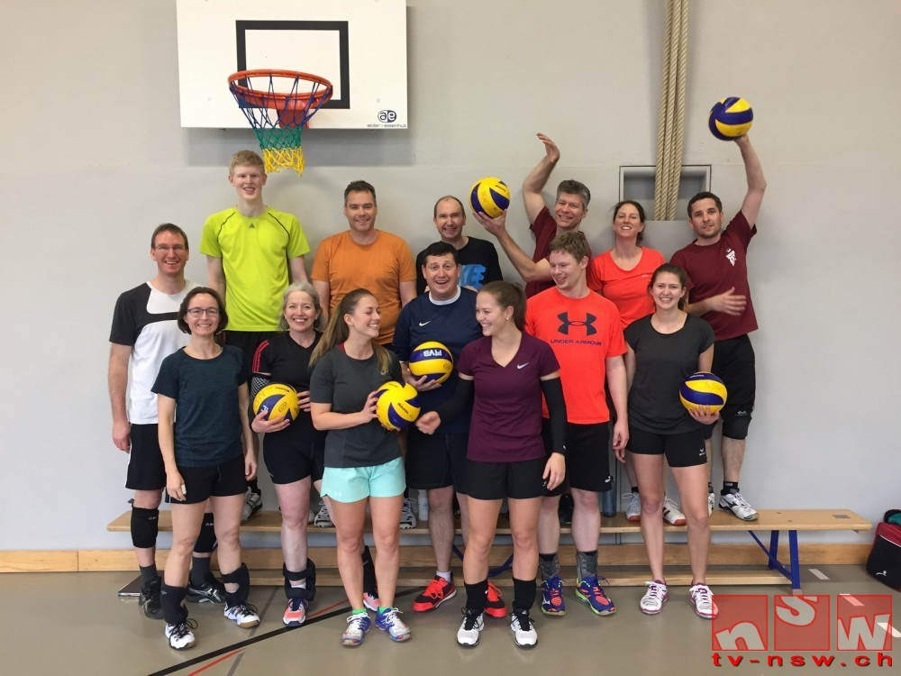 Training, Spiel und Spass am Volleyball-Trainingstag 2018